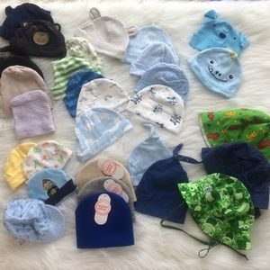 Other - Baby Boy Hat Bundle